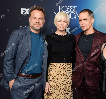Norbert Leo Butz, Michelle Williams and Sam Rockwell