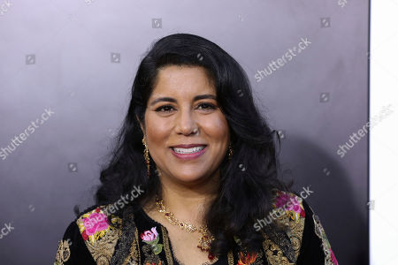 """Nisha Ganatra attends the premiere of """"Late Night"""" at the Orpheum Theatre, in Los Angeles"""