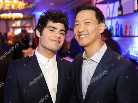 Emery Kelly, Eddie Shin. Emery Kelly, left, and Eddie Shin are seen at the 12th Annual Television Academy Honors, at the Beverly Wilshire Hotel in Los Angeles