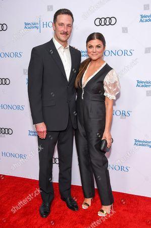 Stock Photo of Tiffani Thiessen and Brady Smith