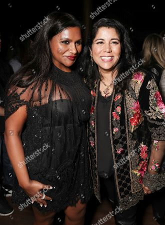 Mindy Kaling and Nisha Ganatra attend the Amazon Studios Late Night Los Angeles After Party