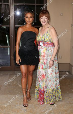 Karrueche Tran, Frances Fisher