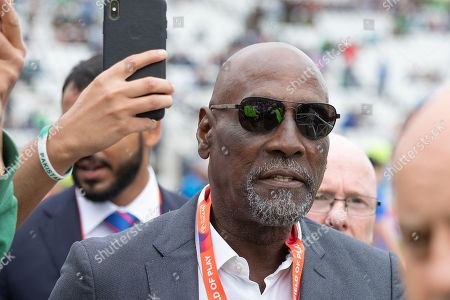 Sir Viv Richards before the ICC Cricket World Cup 2019 match between West Indies and Pakistan at Trent Bridge, West Bridgford