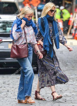 Gudrun Schiffer and Claudia Schiffer