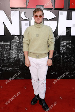 """John Early attends the premiere of """"Late Night"""" at the Orpheum Theatre, in Los Angeles"""