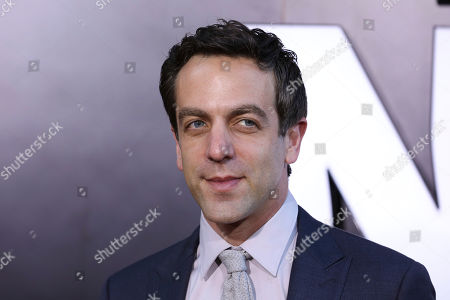 """BJ Novak attends the premiere of """"Late Night"""" at the Orpheum Theatre, in Los Angeles"""