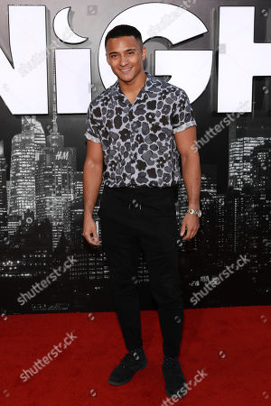 "Brandon Perea attends the premiere of ""Late Night"" at the Orpheum Theatre, in Los Angeles"