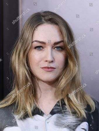 """Stock Picture of Jamie Clayton attends the premiere of """"Late Night"""" at the Orpheum Theatre, in Los Angeles"""