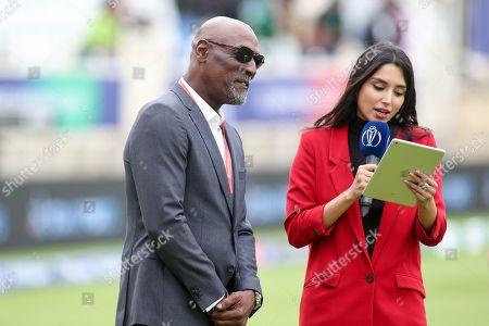 West Indies legend Sir Vivian Richards during the ICC Cricket World Cup 2019 match between West Indies and Pakistan at Trent Bridge, West Bridgford