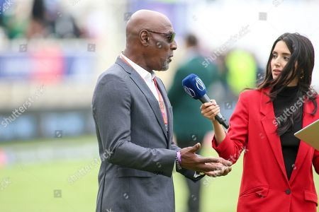 Stock Picture of West Indies legend Sir Vivian Richards during the ICC Cricket World Cup 2019 match between West Indies and Pakistan at Trent Bridge, West Bridgford