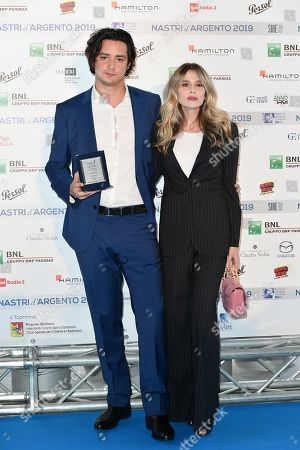 Editorial picture of Nastri d'Argento Awards photocall, Rome, Italy - 30 May 2019