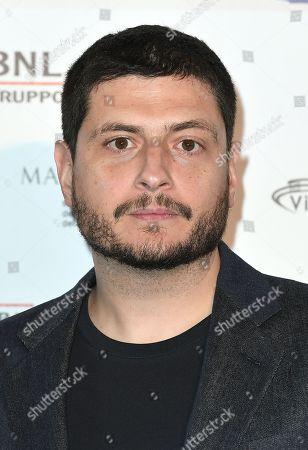 Stock Picture of Director Claudio Giovannesi