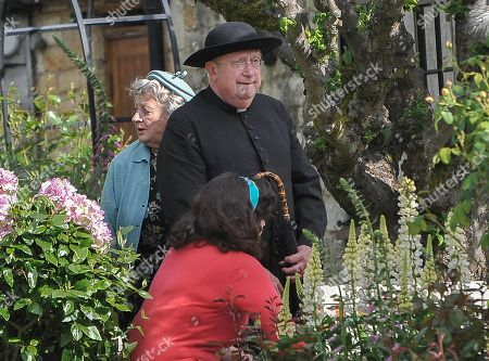 Editorial image of 'Father Brown' TV series filming in Stanton, Gloucestershire, UK - 30 May 2019