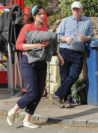 Editorial picture of 'Father Brown' TV series filming in Stanton, Gloucestershire, UK - 30 May 2019