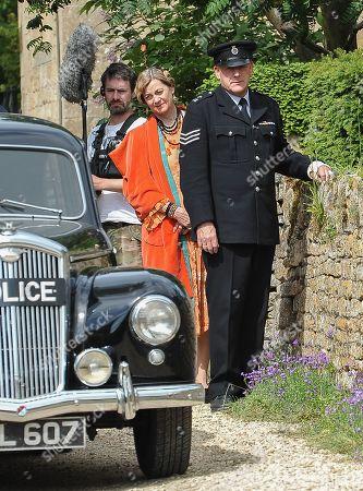 Stock Image of Pippa Haywood and John Burton