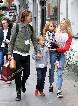 Exclusive - Fearne Cotton and Jesse Wood, Rex Wood, Honey Krissy Wood