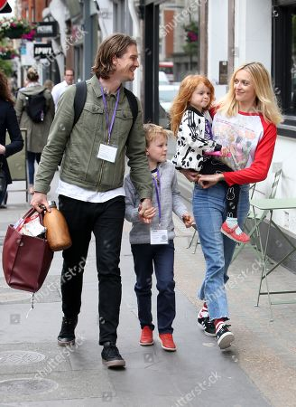 Stock Image of Exclusive - Fearne Cotton, Rex Wood, Honey Krissy Wood