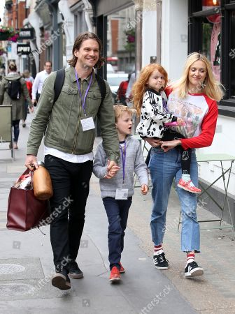 Editorial photo of Exclusive - Fearne Cotton and Jesse Wood out and about, London, UK - 31 May 2019