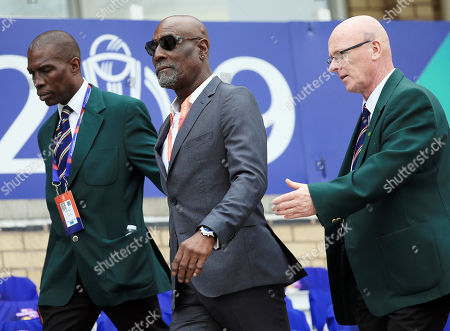 Stock Image of Sir Viv Richards attends the game