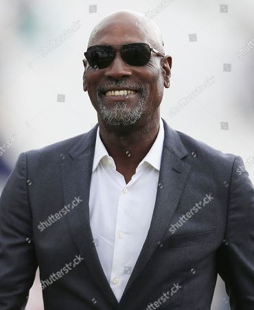 Stock Photo of Sir Viv Richards attends the game
