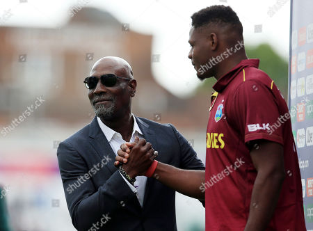 Editorial picture of West Indies v Pakistan, ICC Cricket World Cup 2019, Cricket, Trent Bridge, Nottingham, UK - 31 May 2019