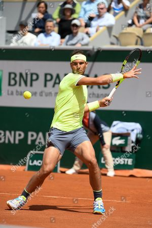 Rafael Nadal (ESP) during his match against Yannick Maden (GER)