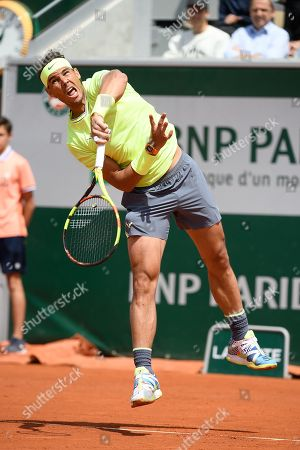 Editorial photo of French Open tennis championships, Paris, France - 29 May 2019