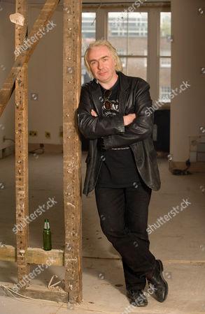 Editorial picture of Mark Guard, squatter representative at 53 Chester Square squat, London, Britain - 20 Oct 2009