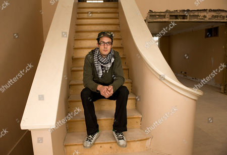 Stock Photo of Squatter Fernando Romereo in 53 Chester Square, which is now a squat