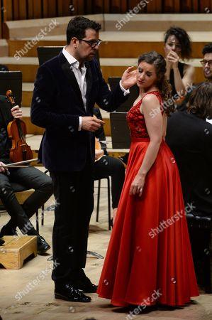 Luca Pisaroni and Elsa Benoit