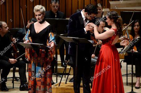 Joyce DiDonato, Luca Pisaroni and Elsa Benoit