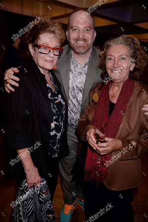 Stock Picture of Janet Suzman, David Bruson and guest