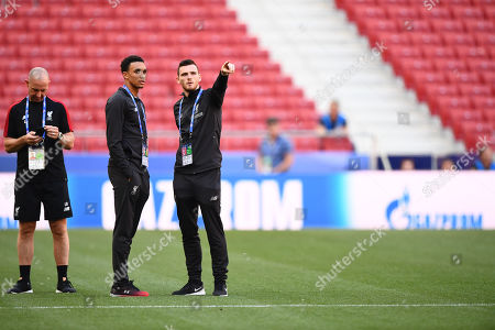 Trent Alex-Arnold  and  Andrew Robertson of Liverpool