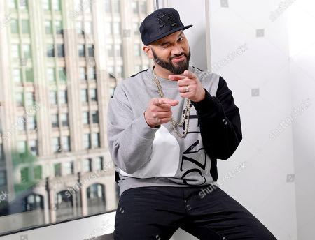The Kid Mero, professionally known as The Kid Mero, poses for a portrait in New York