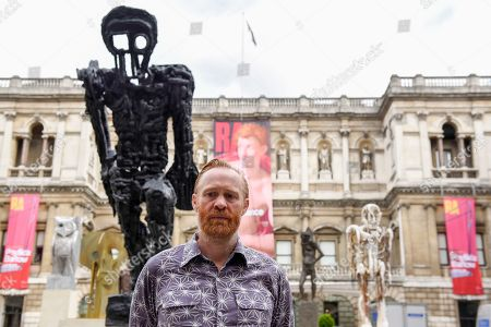 Editorial photo of Thomas Houseago installation at the Royal Academy of Arts, London, UK - 31 May 2019