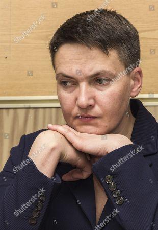Stock Photo of Nadezhda Savchenko