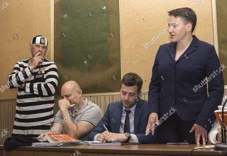 Editorial picture of Member of Parliament and Former Head of the Prisoners' Liberation Center Court Case, Kiev, Ukraine - 31 May 2019
