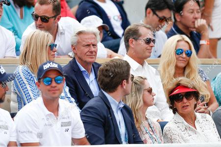 Bjorn Borg, Stefan Edberg, Lynette Federer