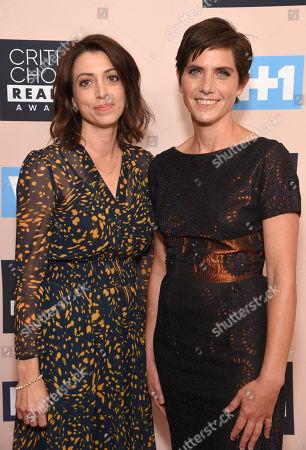 Stock Photo of Laura Ricciardi and Moira Demos