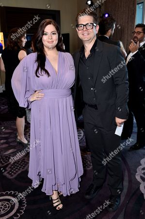 Katrina Weidman and Jack Osbourne