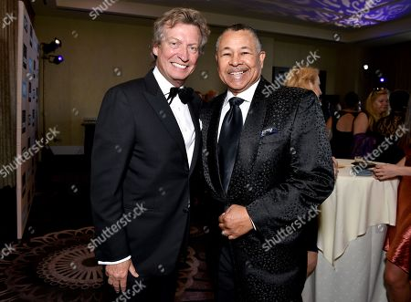 Nigel Lythgoe and Ralph Johnson