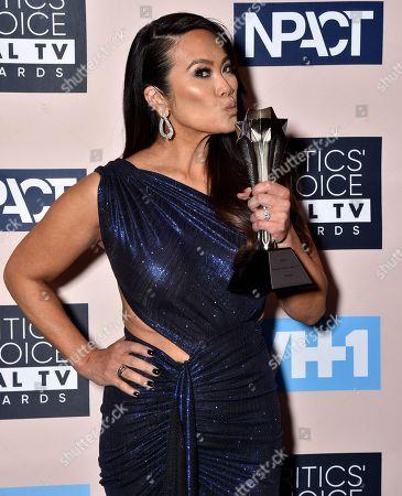 Photos de stock de Critics Choice Real TV Awards Winners Walk