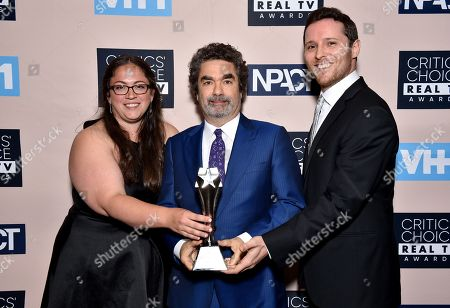 Sara Enright, Joe Berlinger, and Sam Broadwin - Best Crime/Justice Show - 'Conversations with a Killer: The Ted Bunny Tapes'