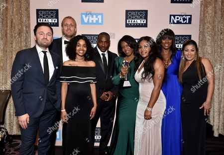 Producers and cast of 'Surviving R. Kelly ' - Best Limited Documentary Series