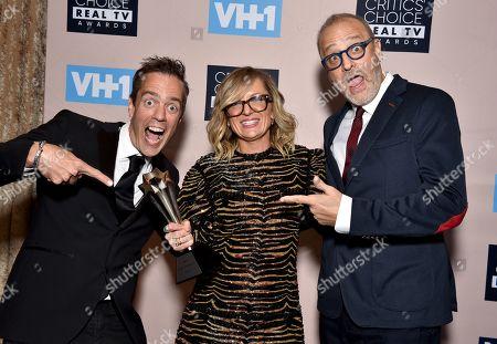 Alex Rudzinski, Izzie Pick Ashcroft, and Craig Plestis - Best Competition Series: Talent/Variety - 'The Masked Singer'