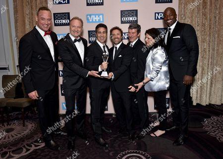 Matt Iseman, Kent Weed, Arthur Smith, Anthony Storm, Brian Richardson, Kristen Stabile, and Akbar Gbaja-Biamila - Best Sports Show - 'American Ninja Warrior'