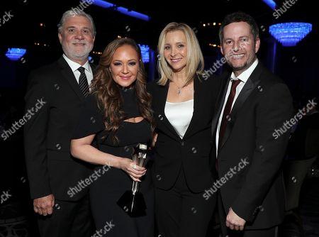 Exclusive - Mike Rinder, Impact Award Recipient - Leah Remini, Lisa Kudrow and Aaron Saidman