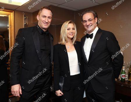 Exclusive - Matt Iseman, Lisa Kudrow and guest