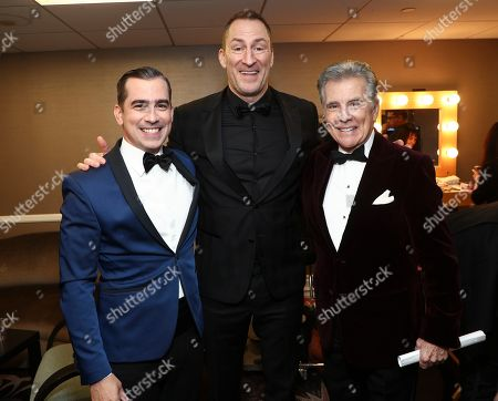 Stock Photo of Exclusive - Callahan Walsh, Ben Bailey and John Walsh