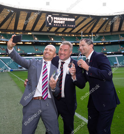 Premiership Rugby Hall of Fame inductees, Matt Dawson, Jason Leonard & Nick Evans